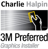 Charlie Halpin 3M_Preferred Installer for vWrapz vehicle wraps Toronto