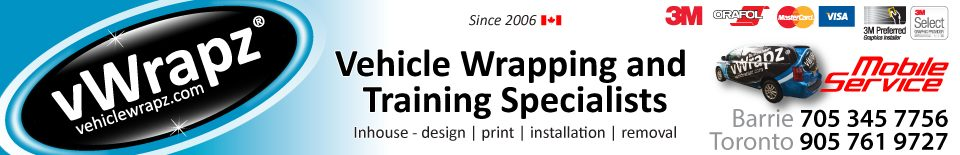Vehiclewrapz.com – vWrapz Inc. Custom Vehicle Wraps Toronto & Barrie