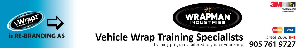 Vehiclewrapz.com – WRAPMAN Vehicle Wrap Training Canada